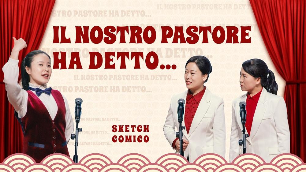 """Sketch comico - """"Il nostro pastore ha detto…"""" (Doppiaggio italiano)"""